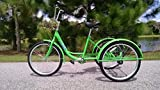 SIX SPEED ADULT TRICYCLE GREEN