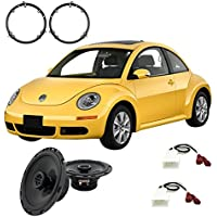 Fits Volkswagen Beetle 1998-2011 Front Door Factory Replacement Harmony HA-R65 Speakers