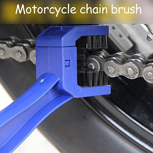 GRANDEY Universal Motorcycle Bike Chain Maintenance Cleaning Brush for Yamaha YZF R1 R6 2005 2006 2007 2008 2009 r3 Sticker fz1 mt 09 07