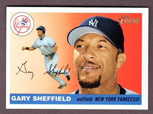 fan products of Gary Sheffield 2004 Topps Heritage with Classic 1955 Topps Design (Yankees)