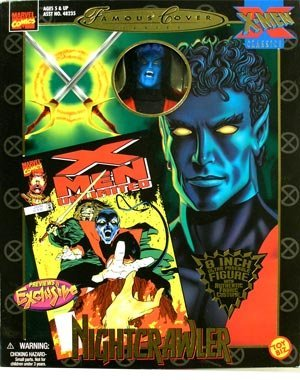 Marvel Action Figures Famous Covers (Marvel Comics Famous Covers > Nightcrawler Action Figure)