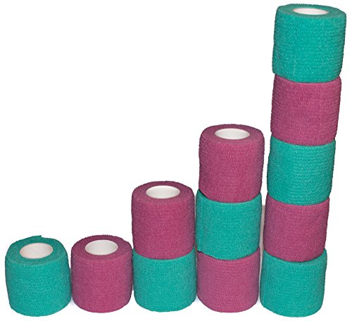"""Cfox 12 Pack Vet Wrap and Bandage For Pets 