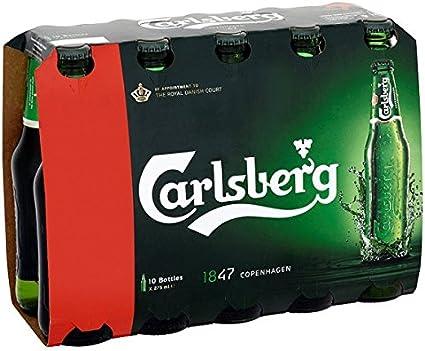 Carlsberg Lager 10 x 275ml (Pack de 2 x 10x275m)