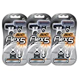BIC Flex 5 Disposable Razor, 6 Count