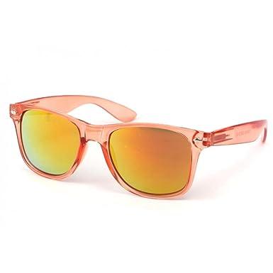 0be793448b8d7b Eye Wear Lunettes Soleil Aero avec monture Orange - Mixte  Amazon.fr ...