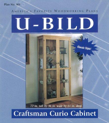 (U-Bild 901 Craftsman Curio Cabinet Project Plan)