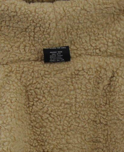 Moda Essentials Men's Sherpa Lined Zip Up Hoodie Sweatshirt