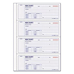 RED8L806 - Rediform Money Receipt Book