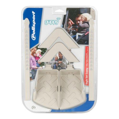 Polisport siège enfant avant guppy mini colour style kit blanc cassé - Crème