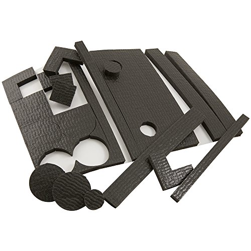 Self-Stick Non-Slip Surface Grip Pads Value Pack - (58 pieces), Various Shapes - (Pad Value Pack)