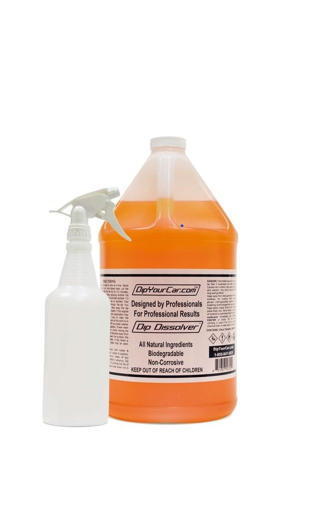 DipYourCar Dip Dissolver Gallon with FREE 32oz Bottle and Spray Nozzle by DipYourCar (Image #2)