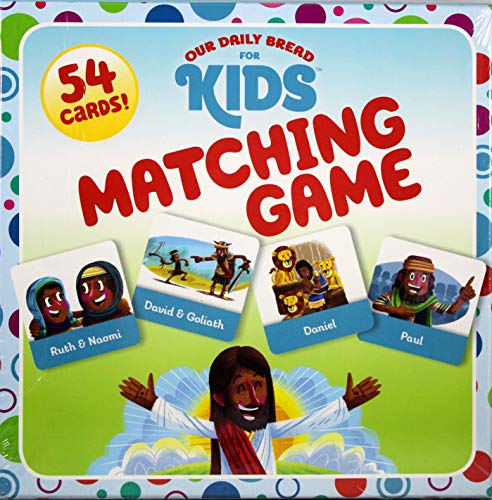 Our Daily Bread for Kids Matching Game -