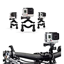 Navitech Cycle / Bike / Bicycle & Motorbike Roll Bar Mount For The Mobius Action Camera 1080P HD Mini Sports Cam