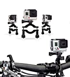 Navitech Cycle/Bike/Bicycle & Motorbike Roll Bar Mount Compatible with The ieGeek WiFi 2.0' inch 1080P Full HD Sport Action Camera