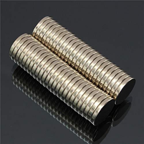 Holding Force confezione da 50 pezzi 20 x 3 mm Magneti al neodimio N52