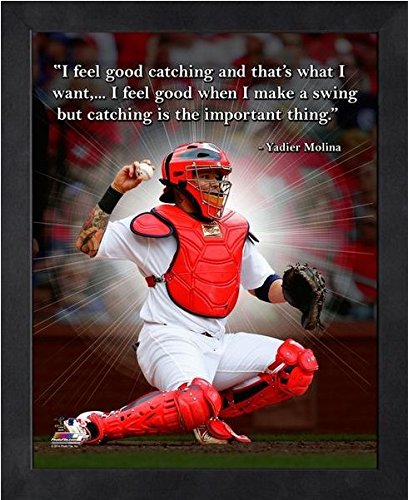 (Yadier Molina St. Louis Cardinals ProQuotes Photo (Size: 9