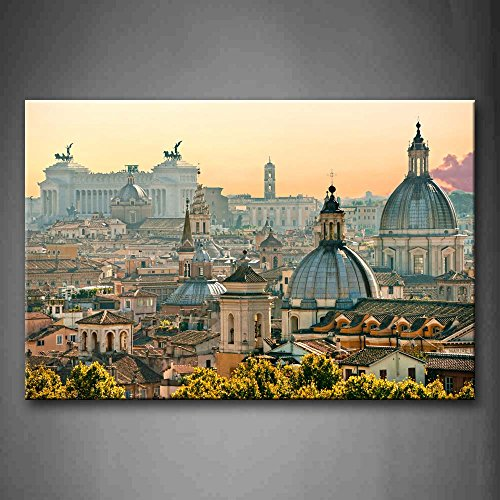 First Wall Art - Noble Buildings In Rome Wall Art Painting P
