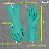 Chemical Resistant Nitrile Gloves, Solvent and