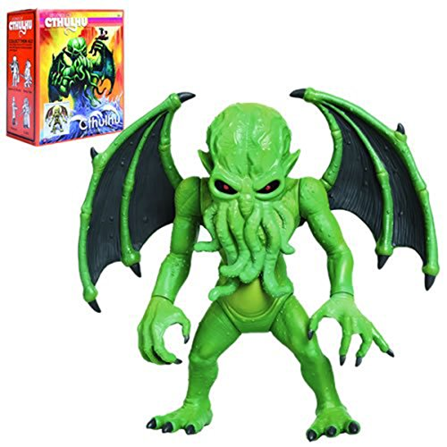 """Warpo Toys Legends of Cthulhu: Cthulhu - The Great Old One 12"""" Figure"""