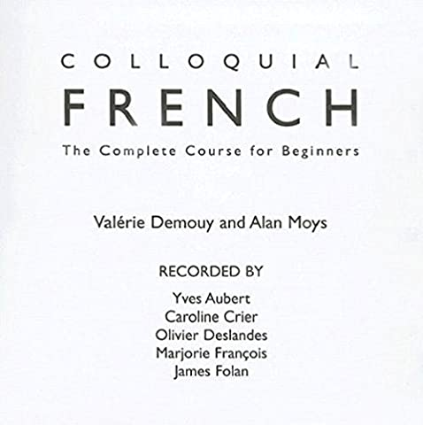 Colloquial French CD: The Complete Course for Beginners (Colloquial Series) (French Complete Course)