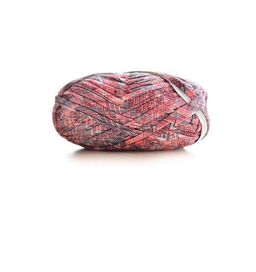 Tejidos de bricolaje hechos a mano, lana de ganchillo grueso ...