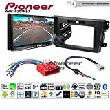 Pioneer AVIC-8201NEX Double Din Radio Install Kit with GPS Navigation Apple CarPlay Fits 2010-2012 Mazda CX-7