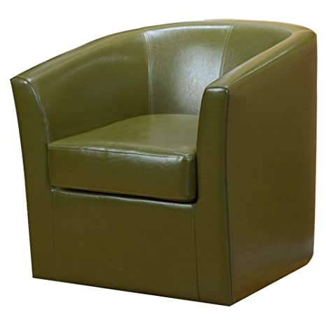 Amazon Com Swivel Barrel Chair Upholsterytub Accent Chair