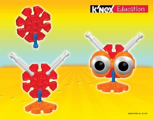 51w1%2B9exRhL - K'NEX Education - Kid K'NEX Group Building Set - 131 Pieces - Ages 3+ - Preschool Educational Toy