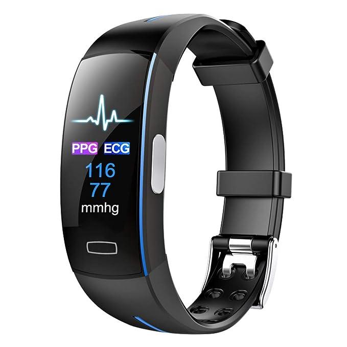 VERYMIN Reloj Inteligente Smart Watch ECG PPG Presión Arterial con ...