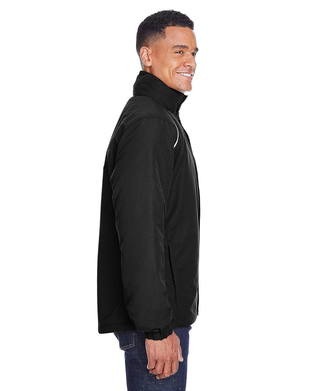 Core 365 Mens Profile Fleece-Lined All-Season Jacket 5XL BLACK