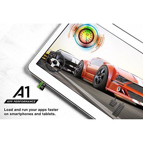PNY Elite-X microSD 256GB, U3, V30, A1, Class 10, up to 100MB/s – P-SDU256U3100EX-GE by PNY (Image #3)'