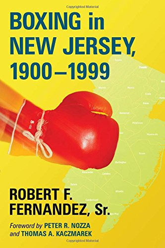 Boxing in New Jersey, 1900-1999 (1999 Jersey)
