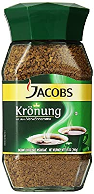 Jacob's Coffee Jacobs Kronung Instant, 7.05-Ounce (Pack of 2) by Jacobs Coffee