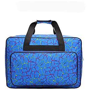 Sewing Machine Tote Bag, Homeself Universal Nylon Carry Bag, Universal Waterproof Padded Storage Cover Carrying Case with Pockets and Handles by Homeself