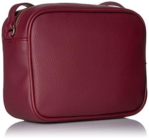 Sling Armani Jeans Faux Bag Burgundy Zipper pt4tUSzqW