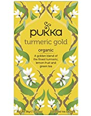 Pukka Turmeric Gold Organic Herbal Tea, 36g (Pack of 20)