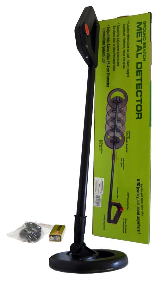 Ground Seach Lightweight Handheld Metal Detector With Adjustable length From 23-34.5''