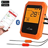 Wireless Meat Thermometer, Bluetooth Cooking Thermometer, Digital...