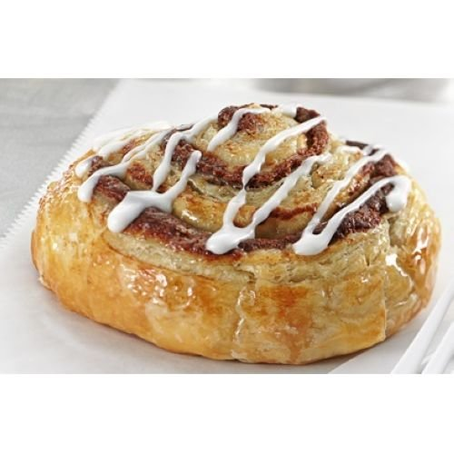 Karps Pan N Bake Cinnamon Roll with Icing and Glaze, 2 Ounce -- 120 per case. by Karps
