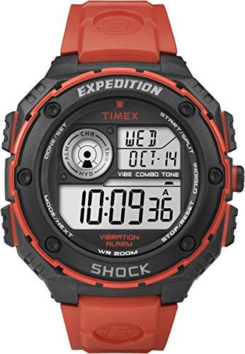 Timex Expedition Shock T49984 - Reloj de cuarzo para hombres, color naranja: Timex: Amazon.es: Relojes