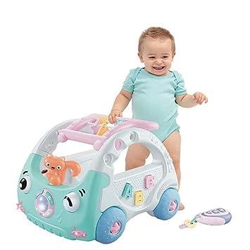 ZLMI Baby Walker Multi-Función Ajustable Andador De ...
