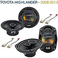 Toyota Highlander 2008-2013 OEM Speaker Upgrade Harmony R69 R65 Package New