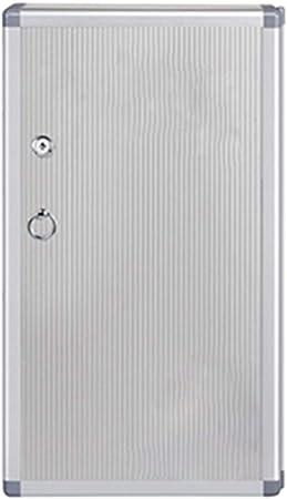 HEMFV Caja de Llaves 48 Gabinete de Llaves Aleación de Aluminio Llave de Seguridad Organizador Caja de Cerradura Soporte de Pared Plateado: Amazon.es: Hogar