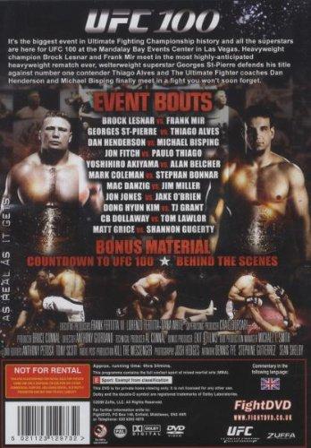 UFC 100: Making History [DVD]: Amazon co uk: Brock Lesnar