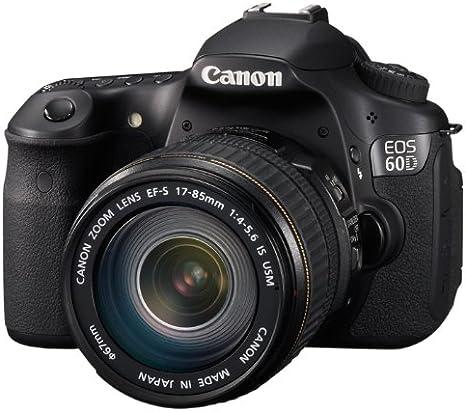 Canon EOS 60D - Cámara Réflex Digital 18 MP (Objetivo EF-S 17-85mm ...