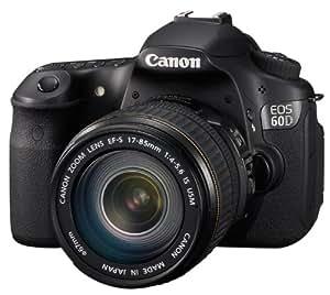 Canon EOS 60D - Cámara Réflex Digital 18 MP (Objetivo EF-S 17-85mm IS USM) (importado)