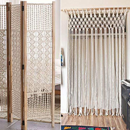 FidgetKute 4mm Beige Macrame Rope Cotton Twisted Cord Artisan Hand Craft DIY 100/300M Sale 300M by FidgetKute (Image #4)