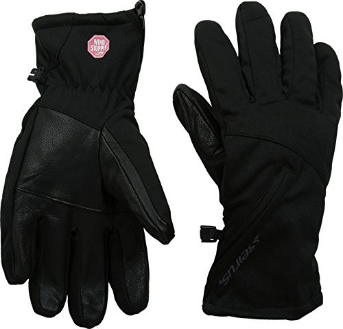 Seirus Innovation Women's Windstopper Cyclone Gloves, Black, - Lining Windstopper