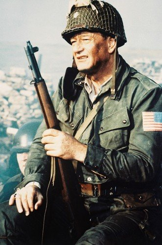 John Wayne The Longest Day Color 24x36 Poster Silverscreen