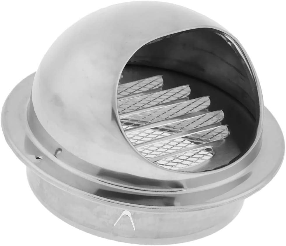 70mm perfk Grille dA/ération en Acier Inoxydable Int/égr/ée Isolant Efficacement D/ébris et Poussi/ère